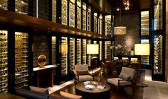 The Wine & Cigar Library | The Chedi Andermatt | Luxury Hotel Switzerland | GHM hotels