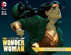 Weird Science DC Comics: The Legend of Wonder Woman Chapter #18 Review