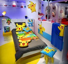 pokemon room decor