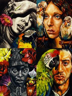 Melbourne artist Gavin Brown