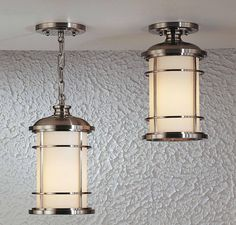 Feiss Lighthouse Duo-Mount Hanging Lantern in Outdoor Lights, Outdoor Hanging Lights: ProgressiveLighting.com
