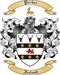 Celtic+Code+Of+Arms+parker | We do have the Parker coat of arms / family crest from Ireland, along ...