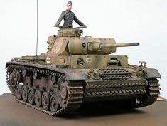 Sd Kfz.141 Panzerkampfwagen III Ausf.L Medium Tank (Germany)