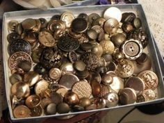 When I get more time and money I also plan on having an extensive button collection as well.