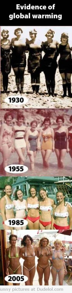 Evidence of Global Warming...bewbs
