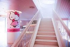 stairway to hello kitty world :)