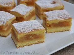 "Rețetă Desert : Prajitura ""turnata"" cu mere No Cook Desserts, Sweets Recipes, Cake Recipes, Romanian Desserts, Romanian Food, Fun Cooking, Cooking Recipes, Good Food, Yummy Food"