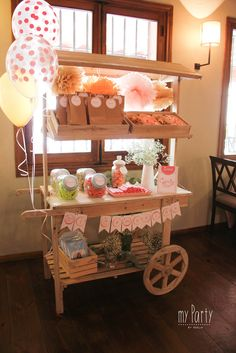 Ice Cream Cart, Flower Bar, Candy Shop, Bake Sale, I Party, Holidays And Events, Lemonade, Catering, Christmas Decorations
