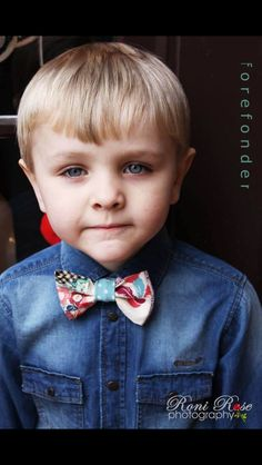 Forefonder children's wear handmade bow ties!