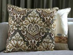 Elizabeth Phillips Designs Beautiful Beaded Pillows! Pillow #054-055