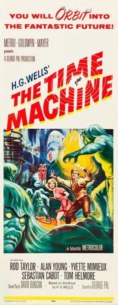 The Time Machine (MGM, 1960)  ***