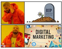 Digital Marketing, Sign, Traditional, Signs