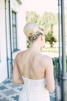 Wedding Hair Accessories – Bridal Flower Blossoms Headpiece, bridal hair accessory, floral hair accessories – a unique product via en.dawanda.com