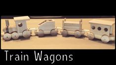 Wooden Creations - Train wagons