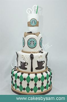 My Bestie's Addiction, and Perfect cake. If it tasted like a Venti half sweet, no fat ICED Caramel Machiato. Lol.
