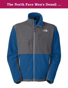 The North Face Men's Denali Fleece Jacket, Snorkel Blue/Vanadis (X-Large). Denali by The North Face is a perfect jacket for everyday activities as well as camping and hiking,Standard, relaxed fit,Recycled Polartec Classic 300 fleece upper,Durable water repelent finish,Stand collar,Full-zip front closure with internal wind flap,Abrasion-resistant panels at shoulders, chest, and elbows,Under arm zip vents,Napoleon zip pocket and right chest zip pocket,Two zip hand pockets.Elastic cuffs and...