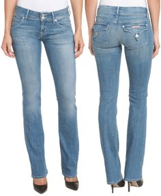 """WANT IT :: Hudson Jeans Beth Gladstone Baby Bootcut :: $99.99, Retail $198 