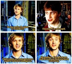 Tom Felton is hilarious. I appreciate him without even liking the movies.