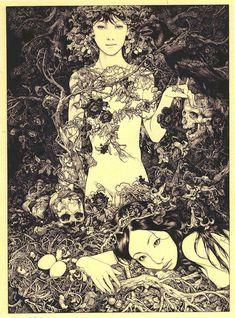 Tales of Mystery and Imagination | IdeaFixa | ilustração, design, fotografia, artes visuais, inspiração, expressão