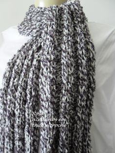 knit scarf by www.rosaacessorios.blogspot.com