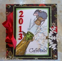 House-Mouse & Friends Monday Challenge: Happy New Year