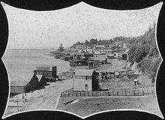 Newport BAYFRONT 1895 Newport Oregon, County Seat, Paris Skyline, History, City, Places, Travel, Vintage, Historia