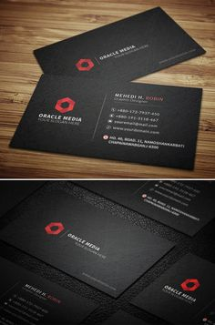 Dark Corporate Business Card This business card is very excellent & good for any type of business and personal use. A modern and stylish business card. Vertical Business Cards, Minimal Business Card, Modern Business Cards, Professional Business Cards, Corporate Business, Corporate Design, Creative Business, Free Business Card Design, Business Card Design Inspiration