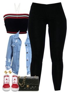 """""""Untitled #1634"""" by power-beauty ❤ liked on Polyvore featuring Prada, Vans, Chanel and Vince Camuto"""