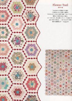 Reiko Washizawa's Hexagon Patchwork Lesson by ThisandThatFromJapan