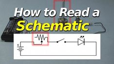 How To Read Electronic Schematics - electrical How To Read Electronic Schematics - Electronic Schematics, Electronic Circuit, Circuit Drawing, Electronics Projects, Electronics Basics, Electronics Components, Learn Robotics, Physics Formulas, Earthing Grounding