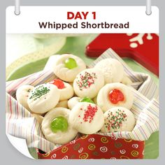 25 Days of Christmas Cheer :: Day 1 :: Whipped Shortbread Recipe