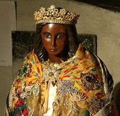 Sainte Sara la Kali - in the South of France, they elaborately dress her on festival day, May 28th.