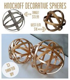 Decorative Metal Sphere Balls