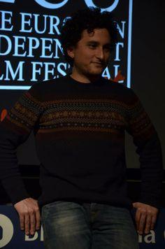 Hammudi Al-Rahmoun Font, director of Otel·lo, winner of Europe's Best Independent Film 2013