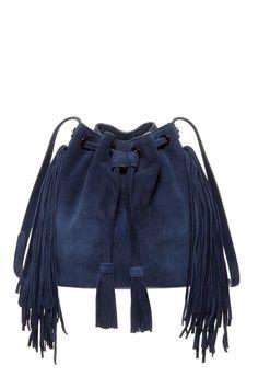 Festival style trends: fringe bucket bags.
