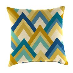 "Jordan Mfg.,Inc. Throw Pillow - 16"" - Resort Cornsilk"
