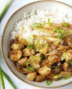Gebratener Chicorée mit Huhn in süß-saurer Sauce - Jammie - I Want Food, Love Food, Asian Recipes, Healthy Recipes, Tapas, Weird Food, Food Test, No Cook Meals, Food Inspiration