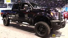 2016 Ford F250 Super Duty Black Ops Editon by Tuscany - Exterior and Int...