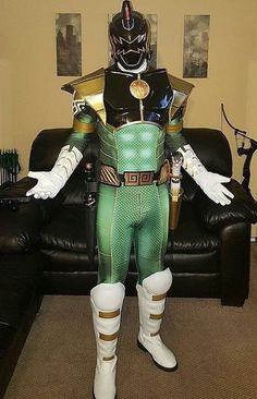 Green, White, & Black Ranger Fusion