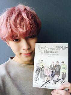 VIXX.EXO.BTOB — pink hongbin for starlights