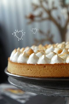 Foodisterie - Lifestyle - Home-Made Pavlova, French Food, Mayonnaise, Sweet Recipes, Cheesecakes, Lemon, Coconut, Pie, Homemade