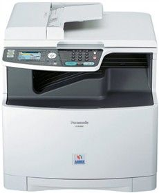 The Panasonic KX-MC6040 all-in-1 laser fax printer scanner copier is equipped with Print, Copy, Scan.