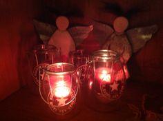 Kerstengelen en windlichten @ gnuswonen