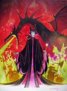 Maleficent, Sleeping Beauty and my favorite Disney villain!  I feel she was just misunderstood!