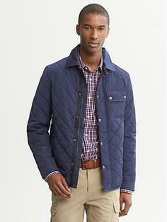 Quilted Jacket | Banana Republic