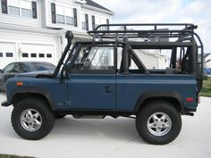 1994 Land Rover Defender 90 in Arles Blue