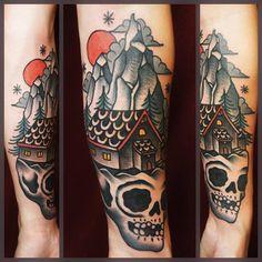 Tattoo by Dane Mancini
