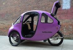 Your family's car SUVs, which we know for their sportier appearance, fall into the category of pickup trucks. Electric Cargo Bike, Best Electric Bikes, Electric Tricycle, Electric Cars, Eletric Bike, Models Men, E Mobility, Mini Car, Reverse Trike