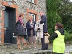 """The popular TV show """"Doc Martin"""" is filmed in Port Isaac (Cornwall). The stone cottage that served as Doc Martin's Surgery on the show is Fern Cottage. Doc Martin Tv Show, Cornish Cottage, Martin Clunes, Port Isaac, North Cornwall, Doc Martins, Fishing Villages, England Uk, Tv Shows"""