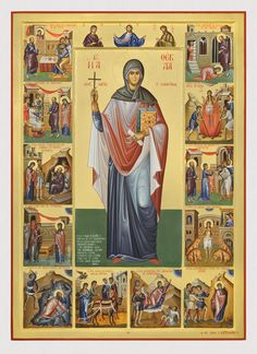 Full of Grace and Truth: St. Thekla the Protomartyr and Equal-to-the-Apostles Byzantine Icons, Byzantine Art, Religious Icons, Religious Art, Mary Magdalene And Jesus, Russian Icons, Queer Art, The Cross Of Christ, Bride Of Christ